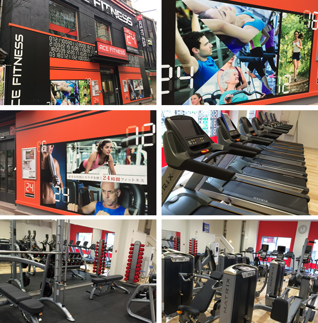 ACE FITNESS 王子駅前店